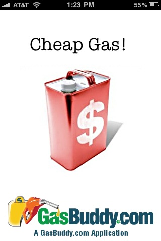 Money-Saving iPhone App #4: Cheap Gas!