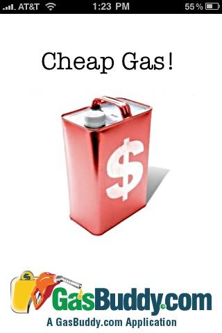 Money-Saving iPhone App #4: Cheap Gas!