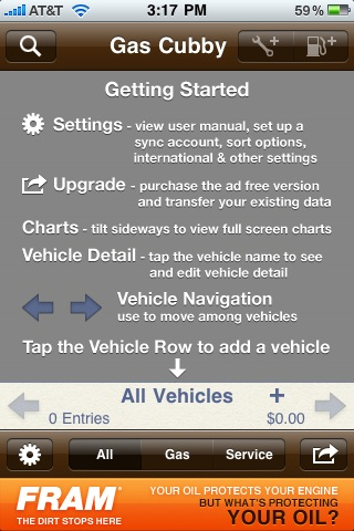 Money-Saving iPhone App #10: Gas Cubby
