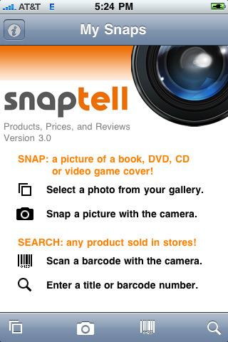 Money-Saving iPhone App #5: SnapTell