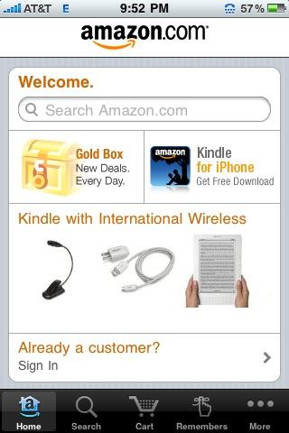 Money-Saving iPhone App #17: Amazon Mobile