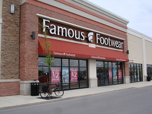 Famous Footwear: Save $10 When You Spend $10 Online (Wed & Thurs)