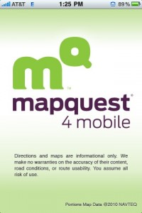 Free MapQuest 4 Mobile App