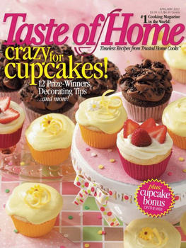 Taste of Home Magazine Subscription for $3.50 (+ Half Price Cookbooks!)
