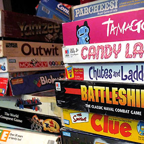 The Game Shop: $10 for $25 in Board Games (Today Only)