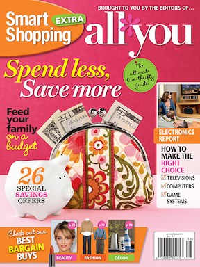 All You: New Smart Shopping Issue (Save $1 or Get Your Copy for Free)