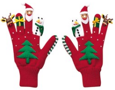 kidorable knit gloves