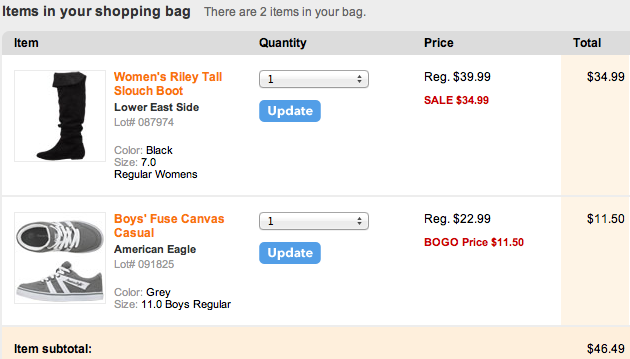 Payless Shoe Sale: BOGO 1/2 Off PLUS An Additional 40% Off!