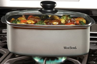 Amazon.com: Multi-Use 5 Quart Slow Cooker With Tote $39.69 (43% Off!)