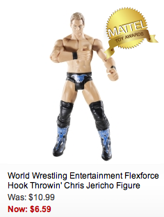 Mattel.com: FREE Shipping + Up To 70% Off Toys! WWE Wrestlers $6.59 Shipped!