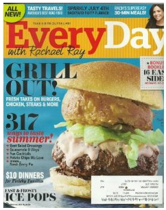 Everyday With Rachel Ray $4.50/Year