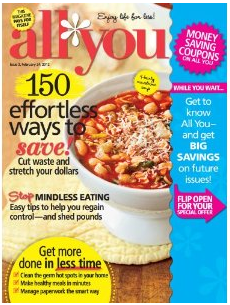 All You: $12 For $12 Issues (Just $1 Each!)