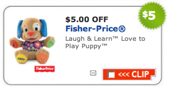Fisher Price Coupons Available Again Gone
