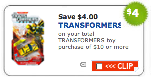 25 New Hasbro Coupons Available