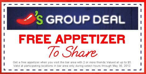 Chilis-coupon