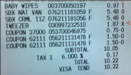 Walmart-Receipt