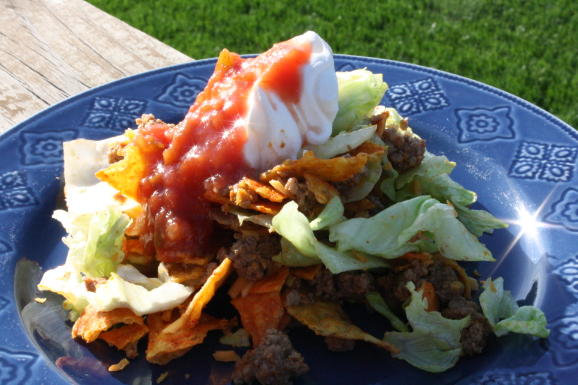 Quick and Easy Dinner Recipe: Walking Tacos