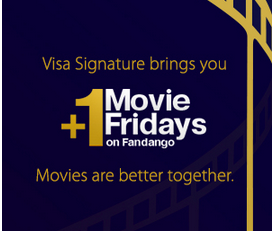 Fandango.com: 20% Off $25 Fandango Gift Card When You Use Your Visa Signature Card