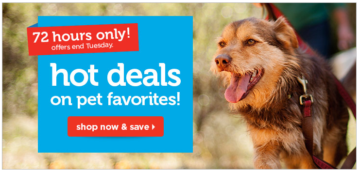 Petco.com: $5 Off Purchase & Free Shipping on Orders $49+