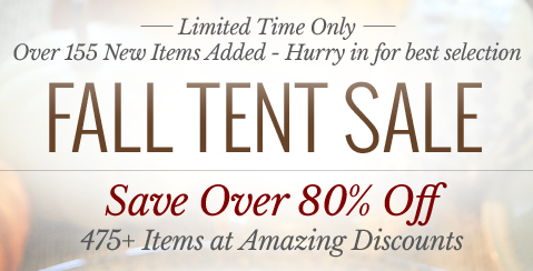 Oneida Fall Tent Sale: *HOT* Up to 80% Off Select Items + Additional 10% Off Sale Prices