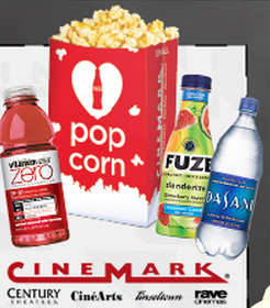 Cinemark: FREE Small Popcorn with Purchase Coupon Available