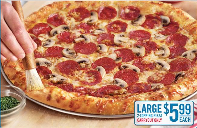 Access Domino's pizza coupons deals and specials here. Deals on our famous pizza, chicken wings, Chocolate Lava Crunch Cake, cheesy bread and Coke products. Including our Deluxe, Pepperoni Feast, Veggie, Hawaiian Feast & Brooklyn Style Pizza.