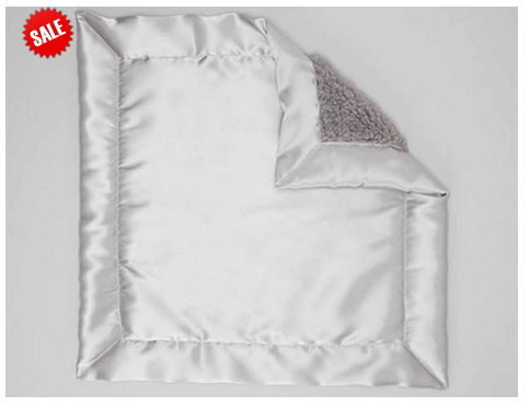 Bebe Bella Designs: Sherpa Satin Backed Baby Blankets up to 70% Off Starting at $5.40
