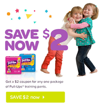 Huggies Coupon Available for up to $3 Off Any Huggies Pull-Ups