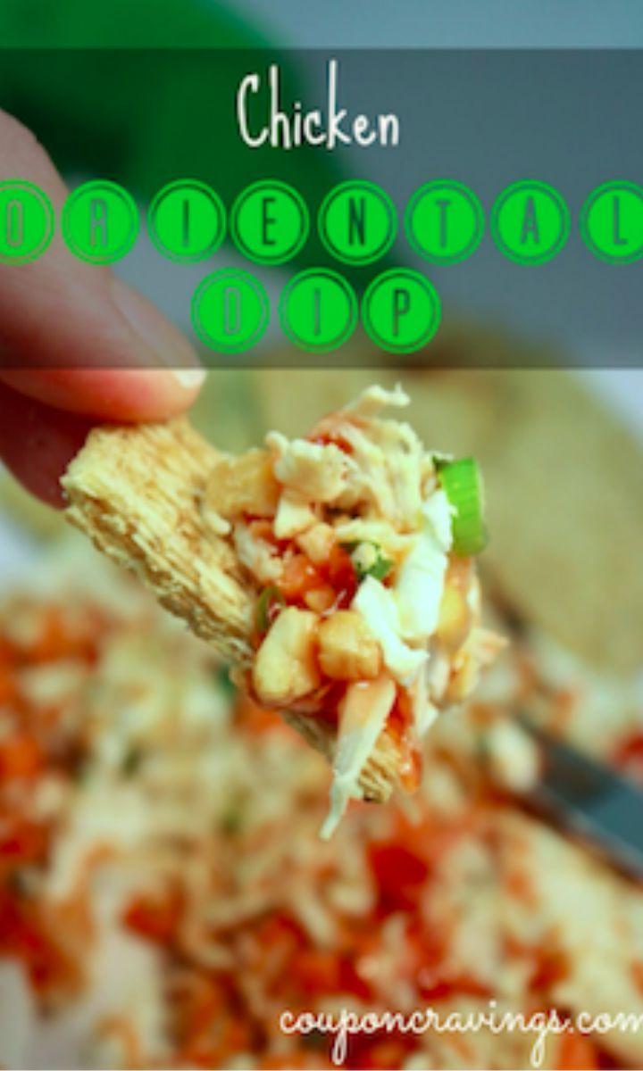 chicken oriental dip chicken appetizer recipe