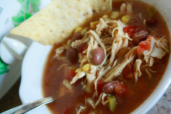 Slow Cooker Tortilla Soup Dinner Recipe