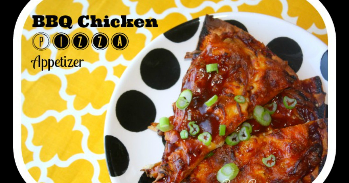 barbeque chicken pizza appetizer recipe
