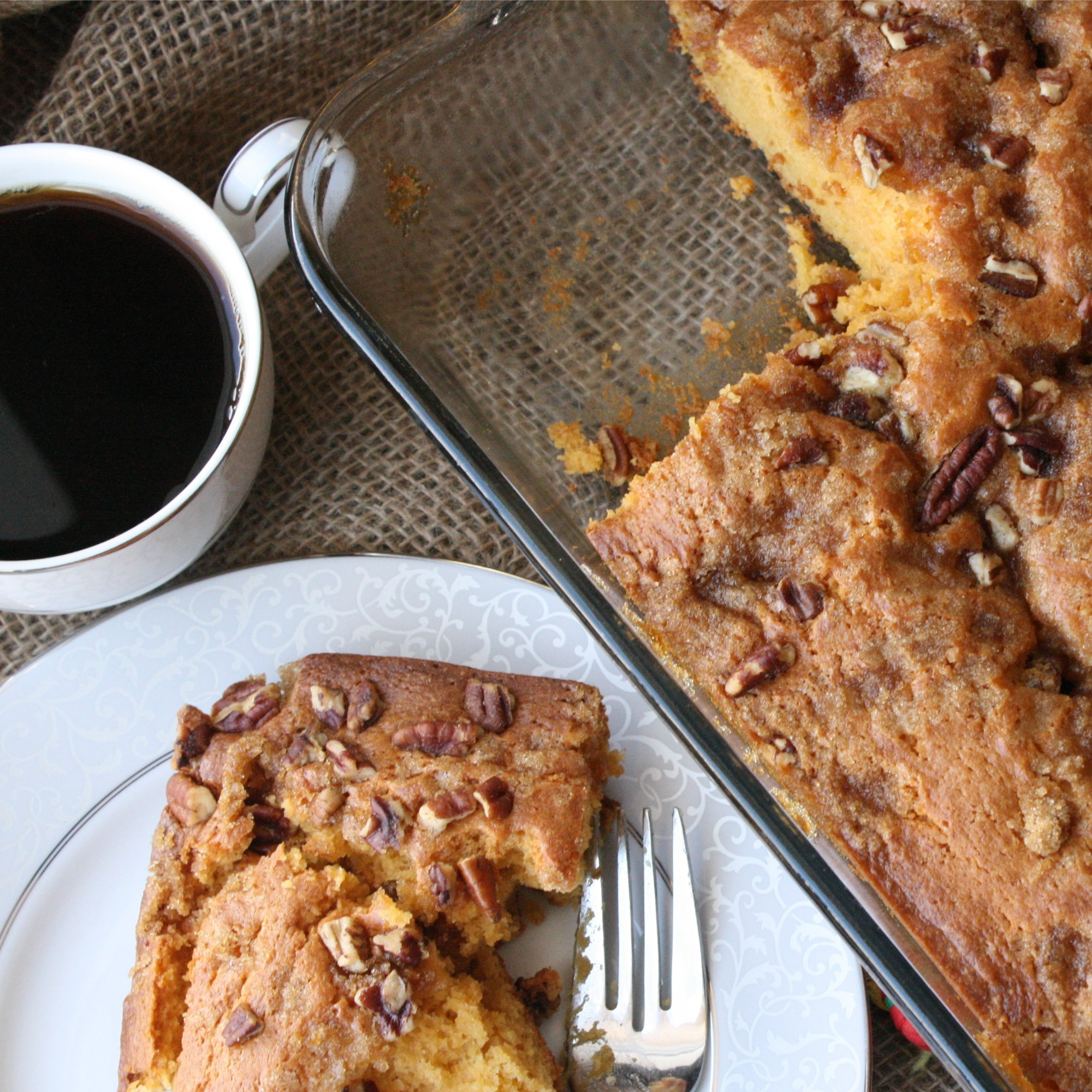 Butterscotch Coffee Cake Recipe