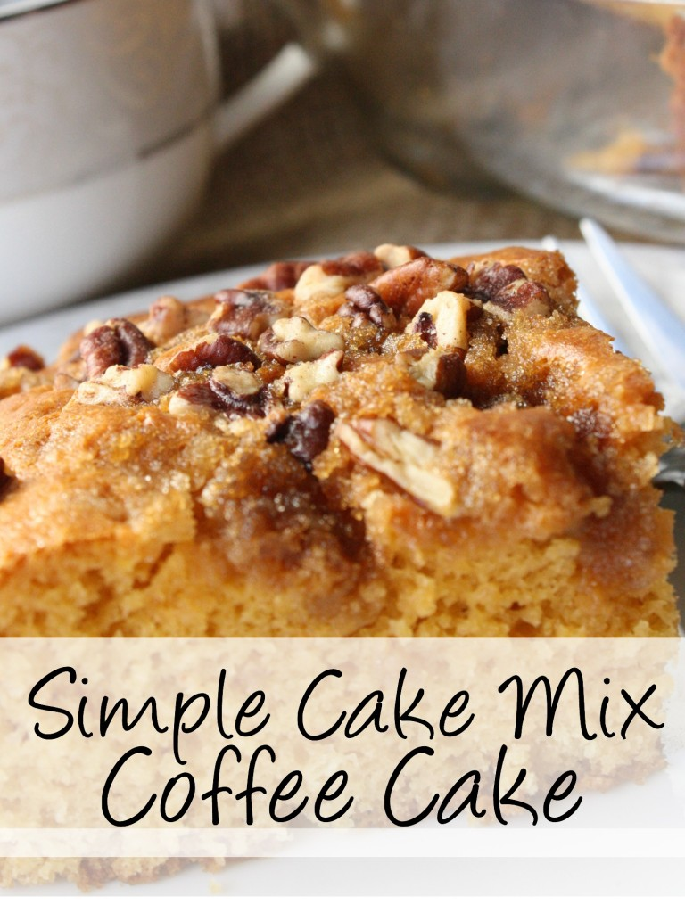 Looking for the best coffee cake? Easy boxes of cake make this cake fabulous. Like the best, most moist coffee cake you may have ever had in your life. Try it out for your next get together, you'll be so impressed! http://couponcravings.com/butterscotch-coffee-cake/