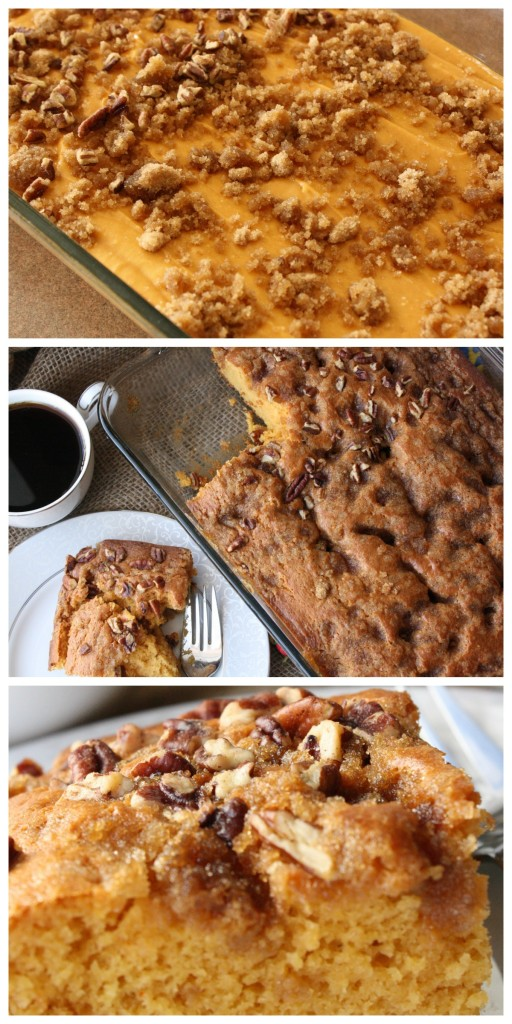 Are you on the lookout for coffee cake recipes? Easy, simple and delicious is the way to go. This recipe is the BEST I have had! And, there are only a few ingredients! Perfect for a brunch! http://couponcravings.com/butterscotch-coffee-cake/