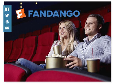 Amazon Local: $14 Fandango Movie Ticket Half Price, only $7