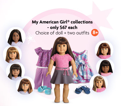 American Girl Doll Sale Including Bitty Baby & Doll Sets 60% off Regular Prices Starting at $50!