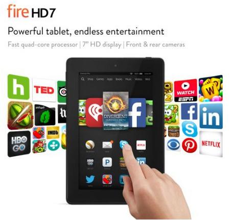 amazon kindle fire 7 best price
