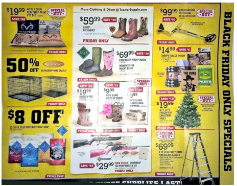 picture about Printable Tractor Supply Coupon titled Tractor Provide discount codes black friday : Promotions in just las vegas