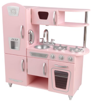 Kidkraft Vintage Kitchen in Pink Only $99 (Reg. $175.99!)