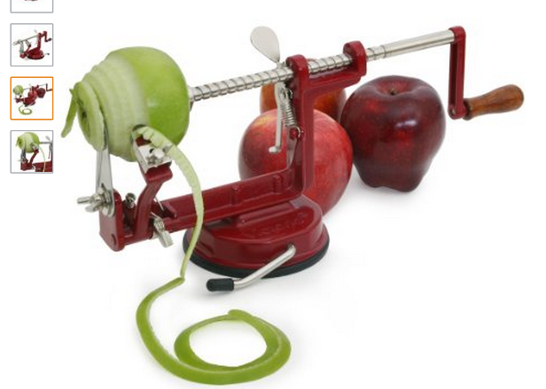 Of all the kitchen tools and gadgets I have this apple peeler is one of my favorites! And, if you're looking for how to peel potatoes , this is it!