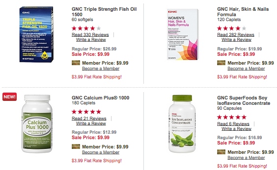 GNC Super Sale with Select Vitamins Only $9.99 Per Bottle (Reg. $20+!)