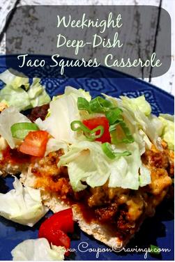 taco square casseroles