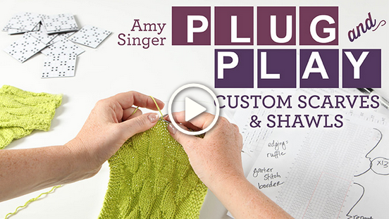 Custom Scarves & Shawls Craftsy Class Only $19.99 (Reg. $39.99!) + FREE Knitting Patterns Available