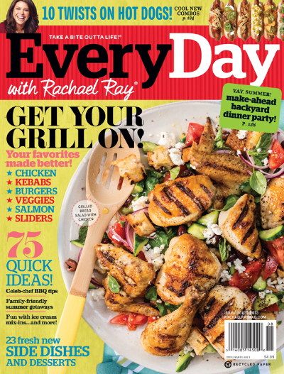 Everyday with Rachael Ray Magazine Subscription Only $4.95/Year ($0.50/Issue!)