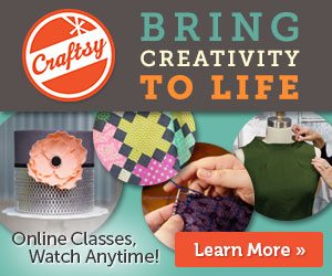 """Craftsy Course Sale with Prices Up to 50% Off + Free """"6+ Stash-Busting Paper Craft Projects Download"""""""