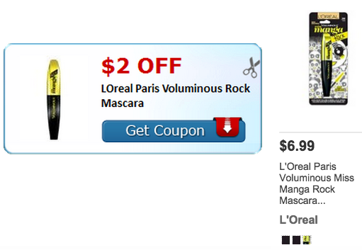 cf5ecd162cc $2/1 LOreal Paris Voluminous Rock Mascara Coupon = $4.99 at Target -