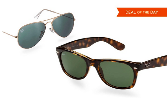 Ray-Ban Aviator & Wayfarer Sunglasses, Only $99.99–$139.99/Pair!