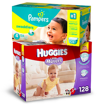 FREE $25 Target Gift Card w/ Select Diaper Purchases