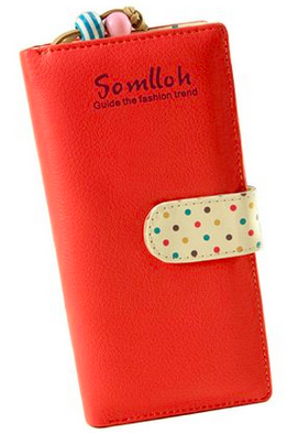 Women's Clutch Wallet, Only $6.29 Shipped!