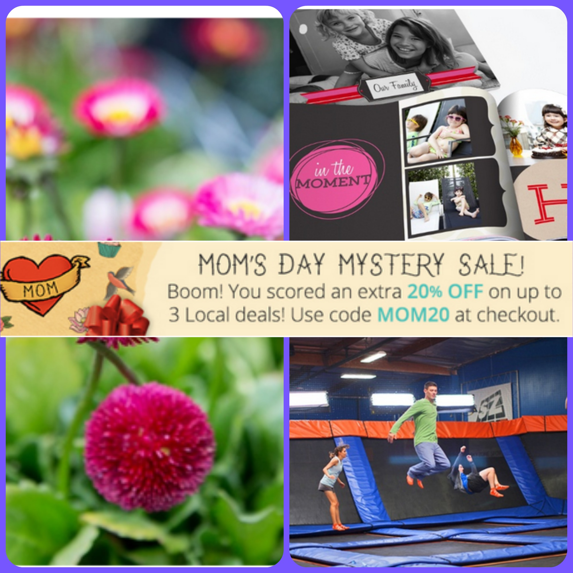 Groupon mom s day mystery sale up to off three local